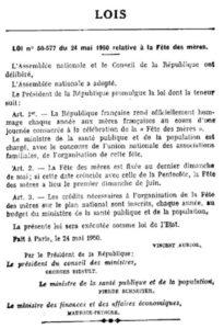 Loi 1950 (source Légifrance)
